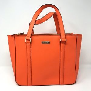 Kate Spade Newbury Lane Cadene Tote Orange